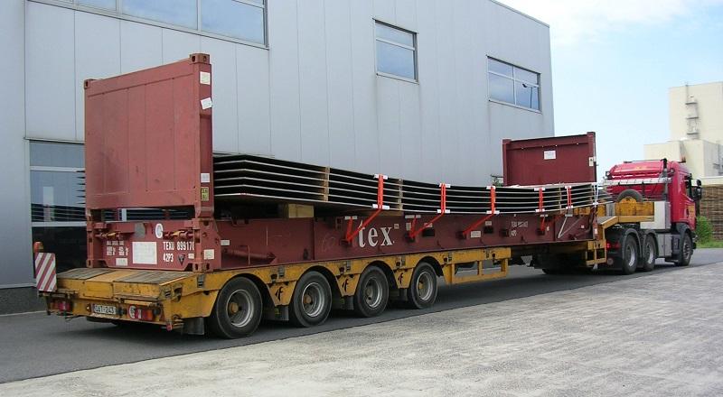 Nhận vận chuyển hàng siêu tải trọng nhanh chóng an toàn