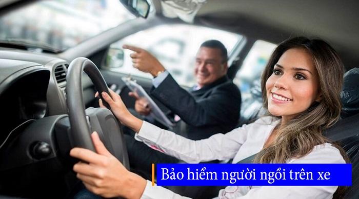 Bảo hiểm người ngồi trên xe và tai nạn lái - phụ xe rất cần thiết