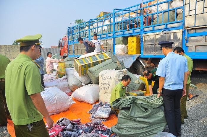 Hàng hóa cấm vận chuyển khi bị phát hiện sẽ bị hải quan nước ta thu giữ