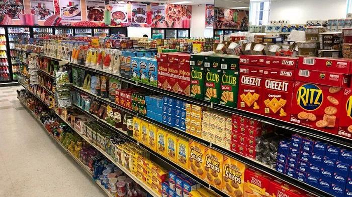 Thực phẩm nằm trong số các mặt hàng tạp hóa bán chạy nhất