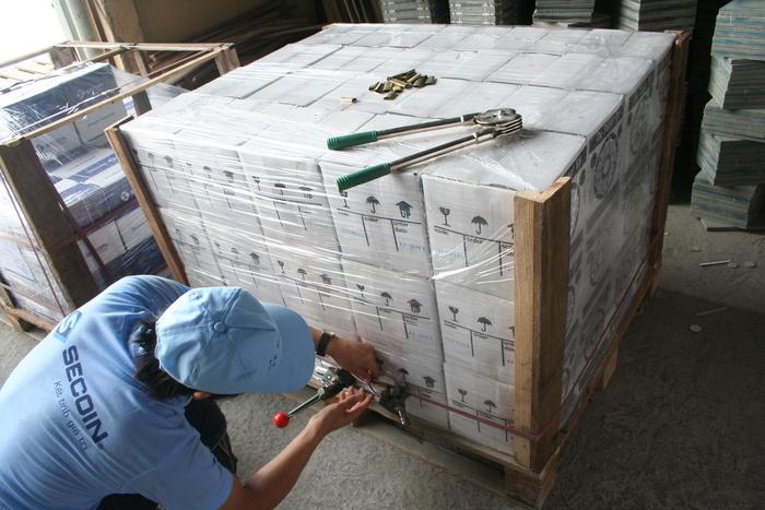 Thùng gỗ cỡ lớn có tác dụng đối với những trường hợp cần đóng thùng nhiều