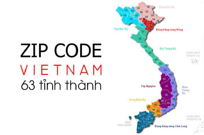 Mã Zipcode các tỉnh thành Việt Nam-1