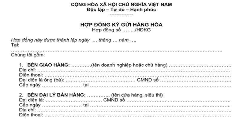 mau hop dong ky gui hang hoa 1