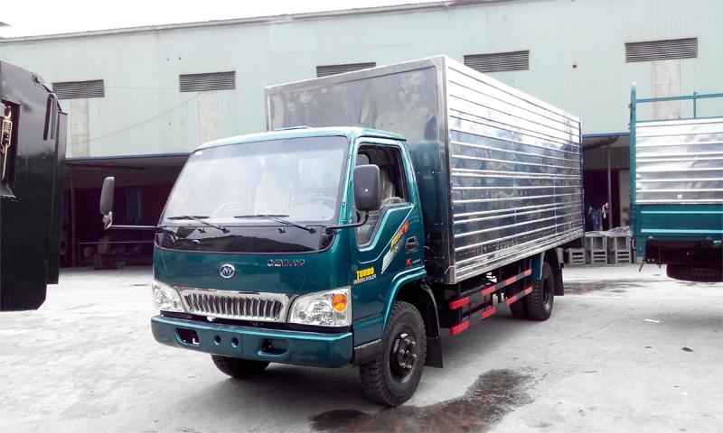 Xe tải Chiến Thắng được sản xuất ngay trong nước